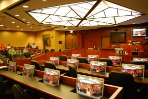 William and Mary Law School Courtroom