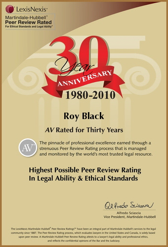 AV Rated for 30 Years