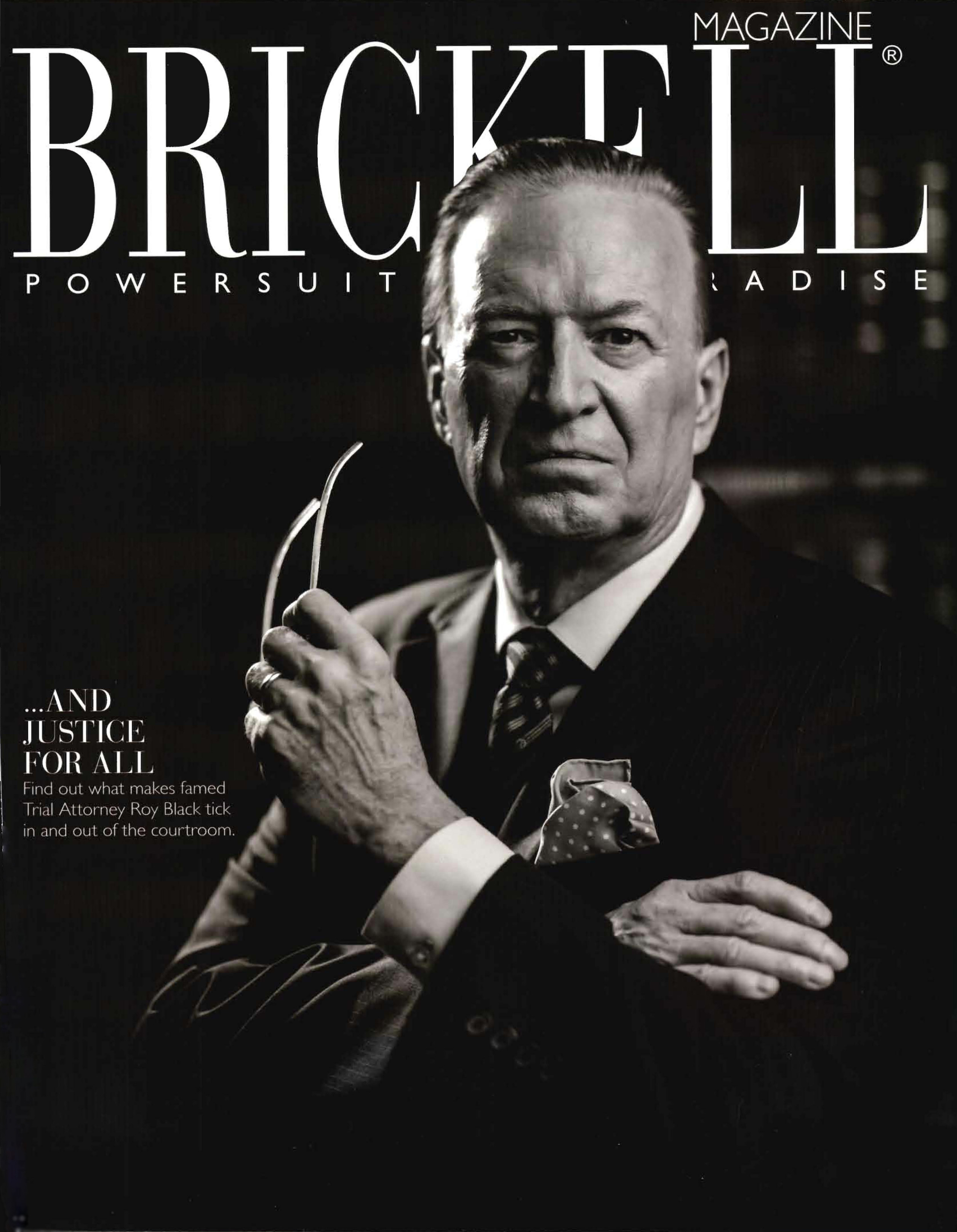 Brickell Magazine Cover